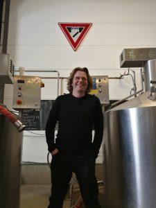 Ramses in zijn brouwerij