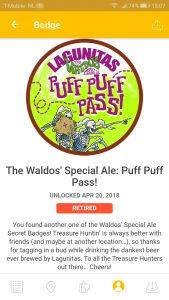 Waldo's Puff puff pass