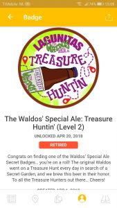 Waldo's special ale treasure hunt