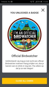 Bird Birdwatcher badge
